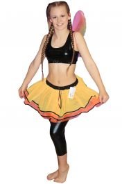Crazy Chick Girls Butterfly TuTu Skirt With Bow & Trim