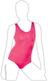 Crazy Chick Girls Pink Sleeveless Leotard