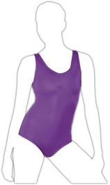 Crazy Chick Girls Purple Sleeveless Leotard