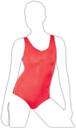 Crazy Chick Girls Red Sleeveless Leotard