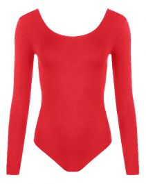Crazy Chick Girls Red Leotard