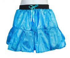 Crazy Chick Girls Turquoise Satin TuTu Skirt