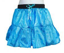 Crazy Chick Girls Turquoise Satin TuTu Skirt