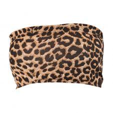 Crazy Chick Leopard Print Boob Tube