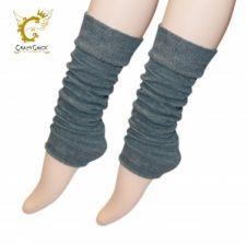 Crazy Chick Plain Grey Leg Warmer