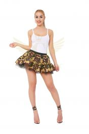 Crazy Chick Camouflage TuTu Skirt