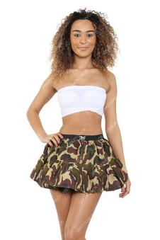 Crazy Chick Camouflage TuTu Skirt