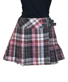 Crazy Chick Tartan Kilt Skirt