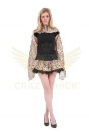 Crazy Chick Leopard Printed TuTu Skirt
