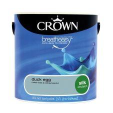 Crown Silk Emulsion 2.5L - Duck Egg