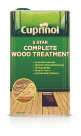 Cuprinol 5 Star Complete Wood Treatment - 5L