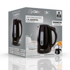 Daewoo Kensington Jug Kettle - 1.7L Black