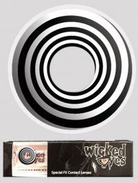 Wicked Eyes Daily Fashion Black Spiral