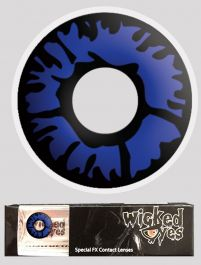 Wicked Eyes Daily Fashion Lenses Blue Flame