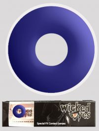 Wicked Eyes Daily Fashion Lenses Electric Blue