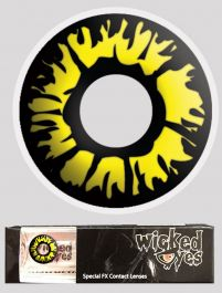 Wicked Eyes Daily Fashion Lenses Explosion Yellow