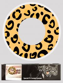 Wicked Eyes Daily Fashion Lenses Leopard