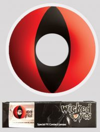 Wicked Eyes Daily Fashion Lenses Red Cat