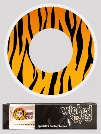 Wicked Eyes Daily Fashion Lenses Tiger