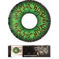 Wicked Eyes Daily Green Fashion Lenses