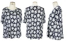 Dandelion print Short Sleeve Top