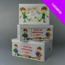 Davies Products Christmas Eve Boxes - 50cm