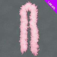 Davies Products Feather Boa - 1.8m Pink