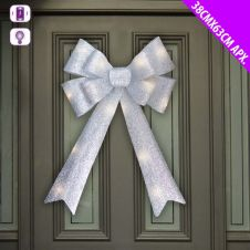 Davies Products LED Door Bow - 38 x 63 Silver