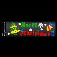 Davies Products Merry Christmas Gel Cling - 50cm