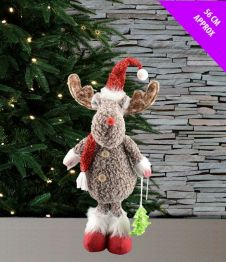 Davies Products Standing Rudolph Decoration - 56cm