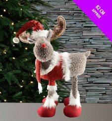 Davies Products Standing Rudolph Decoration - 82cm