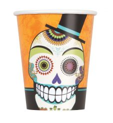 Day of Dead 9oz Cups (Pack of 8)