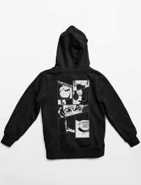 Deadly Eyes | Black Hoodie