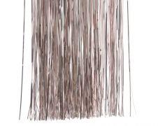 Deco Shiny Vinyl Tinsel - 50 x 40 Blush Pink