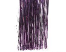 Deco Shiny Vinyl Tinsel - 50 x 40 Petunia Purple
