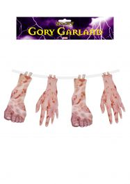 Decoration Garland Gory Feet & Hand 4 Pc 180c