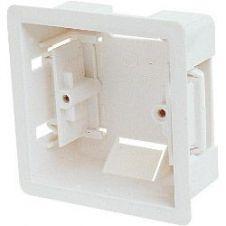 Dencon 1 Gang Dry Lining Box. 36mm Deep - Skin Packed
