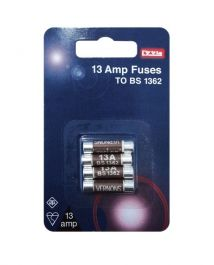 Dencon 13A Fuses - Blister Packed (4)
