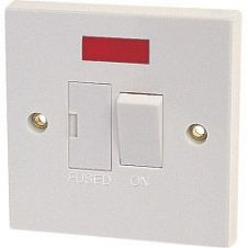Dencon 13A Switched Fused Spur with Pilot Lamp to BS1363 - Pre-Packed