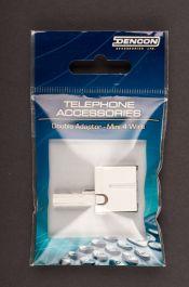 Dencon 2 Way Telephone Adaptor Ind. Display Pack
