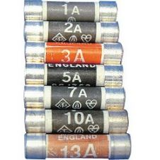Dencon 3 Amp Fuse to BS1362 - Display Card of 72
