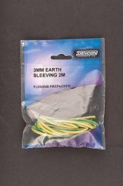 Dencon 3mm Earth Sleeving - 2m