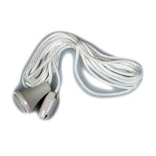 Dencon Spare Pull Cord for Ceiling Switch, White - Pre-Packed
