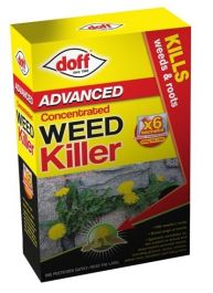 Doff Advanced Concentrated Weedkiller - 6 Sachet