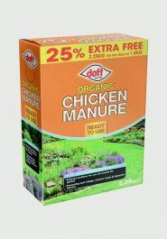 Doff Organic Chicken Manure - 2.25kg