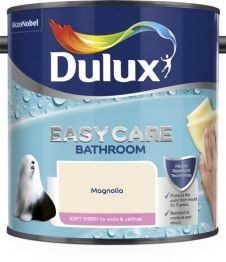 Dulux Easycare Bathroom Soft Sheen 2.5L - Magnolia