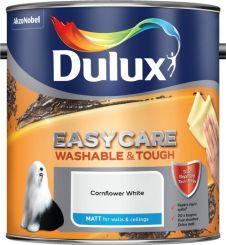 Dulux Easycare Matt 2.5L - Cornflower White