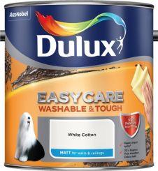 Dulux Easycare Matt 2.5L - White Cotton