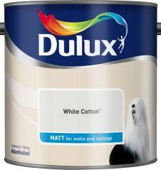 Dulux Matt 2.5L - White Cotton