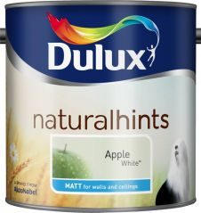 Dulux Natural Hints Matt 2.5L - Apple White